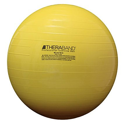 TheraBand 23010 Exercise and Stability Ball - Yellow