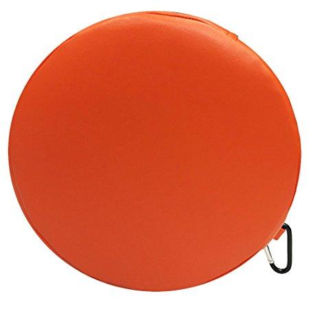 Senseez Vibrating Pillow, Orange, Circle