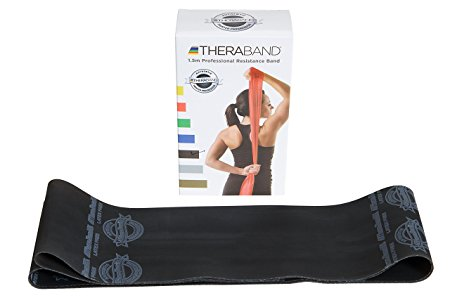 Theraband Black / Special Heavy Resistance Latex Free Exercise Band