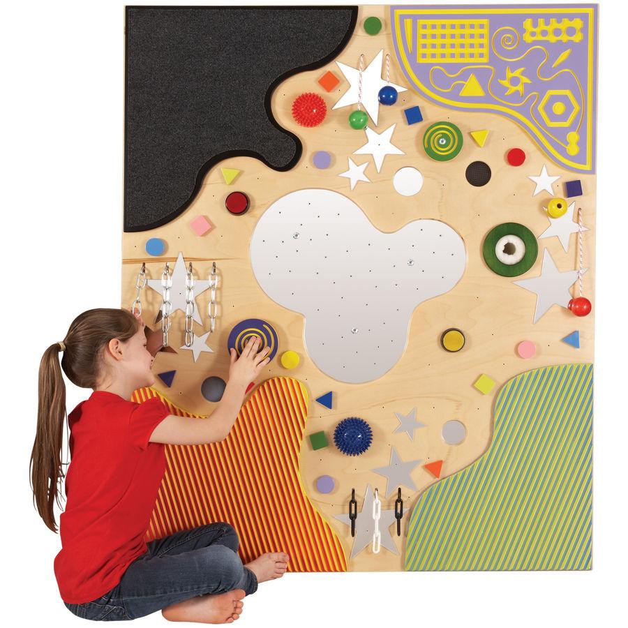Fibre Optic Tactile Wall Panel