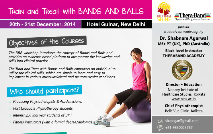 Workshop on Train and Treat with Bands and Balls