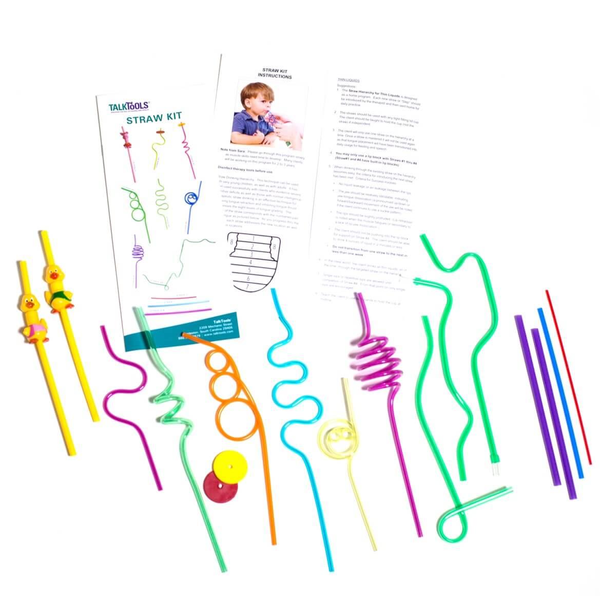 Straw Kit by Talk Tools
